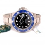 Rolex Submariner Date 41mm White Gold Blue Ceramic 126619LB YA1AAE - Beverly Hills Watch Company