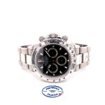 Rolex Daytona Classic, 40mm Stainless Steel Black Dial 116520 YW7RX9 - Beverly Hills Watch Company