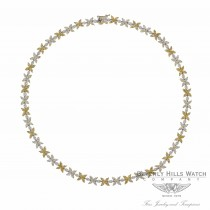 Naira & C Fancy Yellow Marquise Diamond Necklace 16001 - Beverly Hills Watch and Jewelry Company