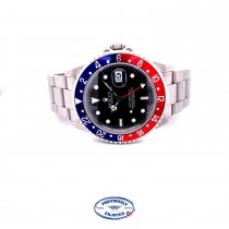 """Rolex GMT Master II Stainless Steel """"PEPSI"""" 16710 1RVA9J - Beverly Hills Watch Company"""