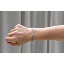 11.97 ct. Diamond Tennis Bracelet 18K White Gold  - Beverly Hills Watch Company