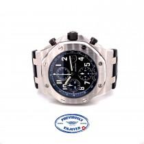 Audemars Piguet Royal Oak Offshore 42mm Chronograph Midnight Blue Dial 26470ST.OO.A028CR.01 381HP1