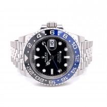 Rolex GMT Master II Batman Jubilee Bracelet 126710BLNR 39RRCH - Beverly Hills Watch Company