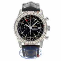 Breitling Navitimer World Watch Black Dial A2432212/B726 - Beverly Hills Watch