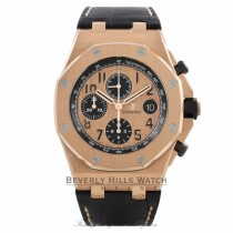 Audemars Piguet Royal Oak Offshore Chronograph 42MM Pink Gold 26470OR.OO.A002CR.01 MEHE1H - Beverly Hills Watch Company