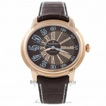 Audemars Piguet Millenary 45MM Automatic 18k Rose Gold Brown Dial 15320OR.OO.D095CR.01 EJ3RHM - Beverly Hills Watch Company Watch Store