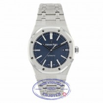 Audemars Piguet Royal Oak 41MM Stainless Steel Blue Dial on Bracelet 15400ST.OO.1220ST.03 XDHT02