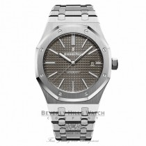 Audemars Piguet 41mm Royal Oak Automatic Stainless Steel Grey Dial 15400ST.OO.1220ST.04 DUCXUQ - Beverly Hills Watch