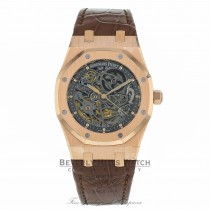 Audemars Piguet Royal Oak Automatic 39mm 18k Rose Gold 15305OR.OO.D088CR.01 V4W5NJ  - Beverly Hills Watch Company