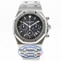 Audemars Piguet Royal Oak 39mm Chronograph Stainless Steel Bracelet Slate Dial Watch 25860ST.O.110ST.01501700 Beverly Hills Watch Company Watches