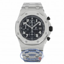 Audemars Piguet Royal Oak Offshore 42mm Stainless Steel Black Dial 26170ST.OO.D101CR.03 EU97R8 - Beverly Hills Watch Company