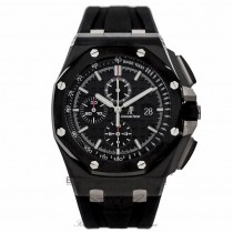 Audemars Piguet Royal Oak Offshore 44MM Black Ceramic Automatic 26402CE.OO.A002CA.01 CR2NRU - Beverly Hills Watch Company Watch Store