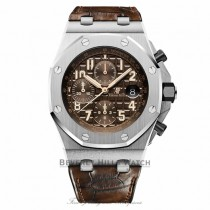 Audemars Piguet Royal Oak Offshore Brown Dial Chronograph 26470ST.OO.A820CR.01 ZNVNT1 - Beverly Hills Watch
