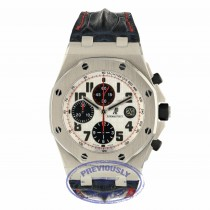 Audemars Piguet Offshore Chronograph 44mm Stainless Steel Case Panda Dial 26170ST.OO.1000ST.01 AX3LQP - Beverly Hills Watch Company