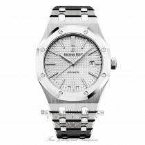 Audemars Piguet Royal Oak 41mm QEII Cup Platinum and Stainless Steel 15403IP.OO.1220IP.01 CX2NPQ