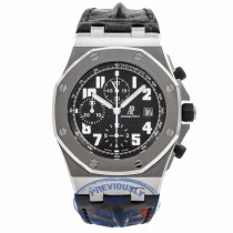 Audemars Piguet Offshore Stainless Steel Black Dial Themes 26170ST.OO.D101CR.03 JJULQJ - Beverly Hills Watch Company Watch Store