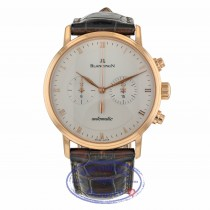 Blancpain Villeret 40mm Chronograph Rose Gold White Dial 4082.3642.55B 80VP6Q - Beverly Hills Watch Company
