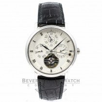 Blancpain Villeret Equation Marchante Pure Perpetual Calendar Platinum Watch 6038-3442-55B Beverly Hills Watch Company