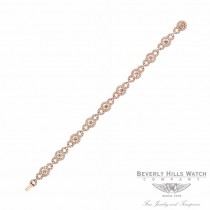 Designs by Naira 18k Rose Gold White and Chocolate Diamond Bracelet 35996 CUJEVK - Beverly Hills Jewelry Store