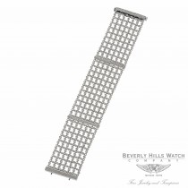18K White Gold Diamond Mesh Bracelet 35700 GVLNKP - Beverly Hills Watch
