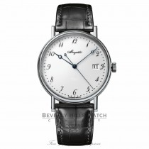 Breguet Classique White Dial 18 Carat White Gold Automatic 5177BB/29/9V6 DP2P14 - Beverly Hills Watch