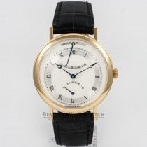 Breguet Classique Retrograde Seconds Yellow Gold Case Silver Roman Numeral Dial Automatic Watch 5207BA-12-9V6 Beverly Hills Watch Company Watch Store