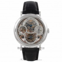 Breguet Classique Tourbillon Perpetual Calendar 40MM Platinum Skeleton Dial 3755PR/1E/9V6 C6XJPL - Beverly Hills Watch Company Watch Store