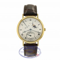 Breguet Classique Power Reserve Moon 36mm Yellow Gold 3137ba/11/986 9ZQUTD