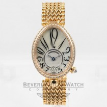 Breguet Reine De Naples Rose Gold Mother of Pearl Dial Ladies Watch 8918BR-58-J20-D000 Beverly Hills Watch Company