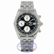 Breitling Chronomat Automatic 40mm Black Dial Silver Sub-Dials Date Bracelet Folding Clasp A1335211/B545 X0PU7V - Beverly Hills Watch
