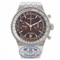 Breitling Montbrillant Legende 47MM Stainless Steel Bronze Dial A2334021/Q548 MIH5DN - Beverly Hills Watch Company Watch Store