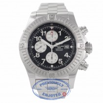Breitling Super Avenger 49MM Chronograph Black Dial Stainless Steel A1337011/B973-135A ATRWJ3 - Beverly Hills Watch Company Watch Store