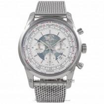 Breitling Transocean Unitimer Chronograph 46MM AB0510U0/A732 4T6BIM - Beverly Hills Watch Company Watch Store