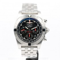 Bretling B01 Stainless Steel Black Dial Chronograph Limited Watch AB011110/BA50 Beverly Hills Watch Company Watches