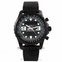 Breitling Chronospace Black Steel Limited Edition M7836522/L521 - Beverly Hills Watch Company Watch Store