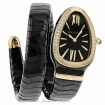 Bulgari Serpenti Spiga Ladies SPC35BGDBCGD1.1T MURV0N - Beverly Hills Watch