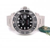 Rolex Sea-Dweller 43mm Ceramic Stainless Steel 126600 C989FJ - Beverly Hills Watch Company