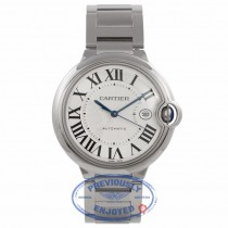 Cartier Ballon Bleu Large Stainless 42mm Steel W69012Z4 AW87N5