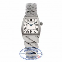 Cartier La Dona Small Stainless Steel Silver Dial W660012I WN5Y36 - Beverly Hills Watch Store