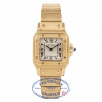 Cartier Santos Small 18k Yellow Gold 866930-0505 UYBIP4 - Beverly Hills Watch Company Watch Store