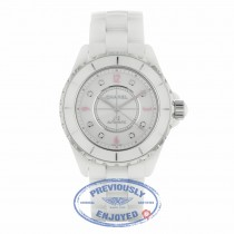 Chanel J-12 Automatic 38mm White Ceramic White Lacquered Dial H4864 2LXXXX - Beverly Hills Watch