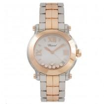 Chopard Happy Sport Floating Diamonds  27-8488-9011 Beverly Hills Watch Company
