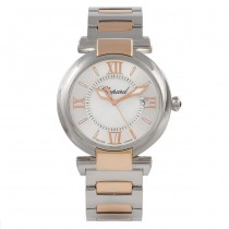 Chopard Imperiale 36mm Stainless Steel and Rose Gold 388532-6002  DHWMBI -  Beverly Hills Watch Company Watch Store