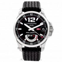 Chopard Mille Miglia Gran Turismo XL Power Reserve Stainless Steel Black Dial 16/8457-3001 SQWC1X - Beverly Hills Watch Company Watch Store