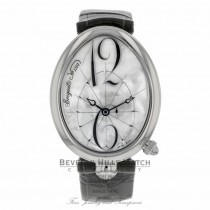 Breguet Reine de Naples Ladies Stainless Steel Mother of Pearl 8967ST/58986 P5FQF1 - Beverly Hills Watch Company Watch Store