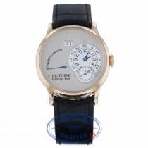 F.P. Journe Octa Reserve de Marche 38mm Grey Dial octareservemarcherg 8Q00P0 - Beverly Hills Watch Company