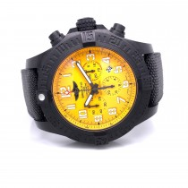 Breitling Hurricane Chronograph 50mm Yellow Dial XB0170E4/i533/282S F8PY5Y - Beverly Hills Watch Company