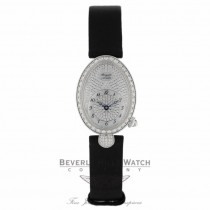 Breguet Reine de Naples Diamond Pave Dial Ladies 8928BB/8D/844.DD0D - Beverly Hills Watch