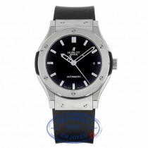 Hublot Classic Fusion Auto 45mm Zirconium Titanium Black Dial 511.ZX.1170.RX CHW139 - Beverly Hills Watch Company
