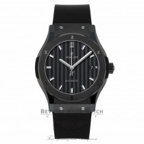 Hublot Classic Fusion Automatic Black Magic Ceramic 42mm 542.CM.1771.RX - Beverly Hills Watch
